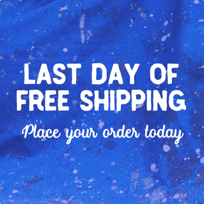 Free shipping announcement example