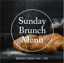 Sunday brunch menu social media post template