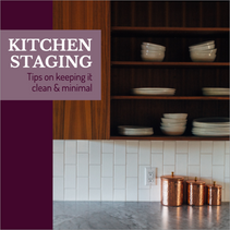 Kitchen staging social media post template