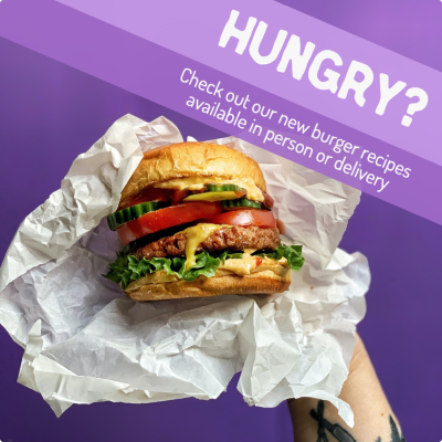 Burger add example