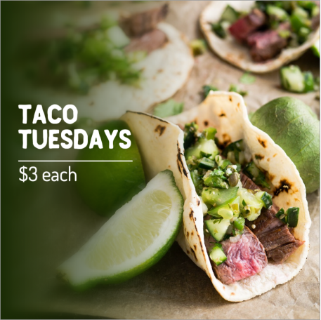 Taco Tuesday social post template