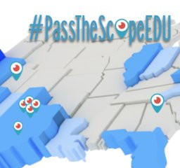 Learning from Application #passthescopeEDU