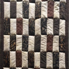 Silent Auction- Quilt Hanging Earth Tones