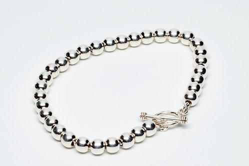 6MM High Shine Beaded Bracelet