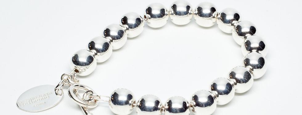8MM High Shine Beaded Bracelet