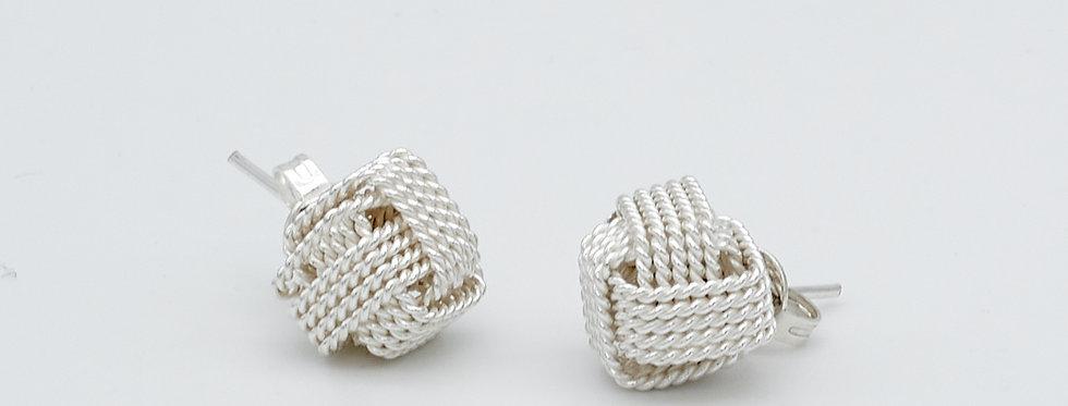 Love Knot Post Earrings