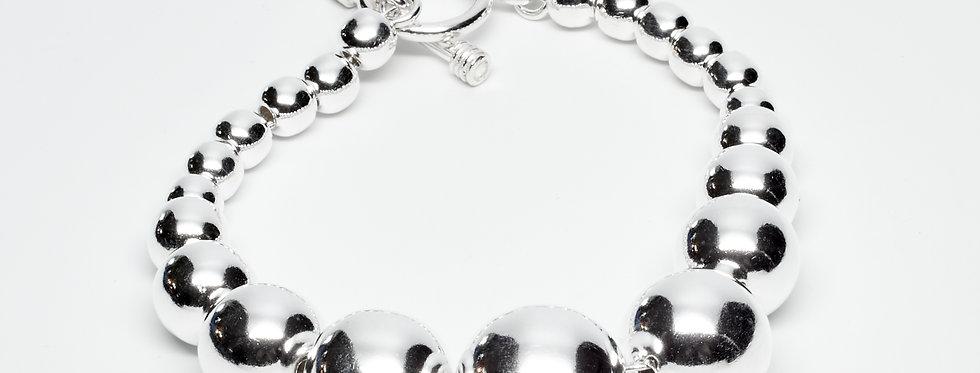 High Shine Graduated Bracelet