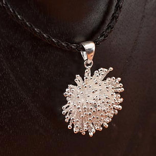 Sterling Silver Snowflake Pendant