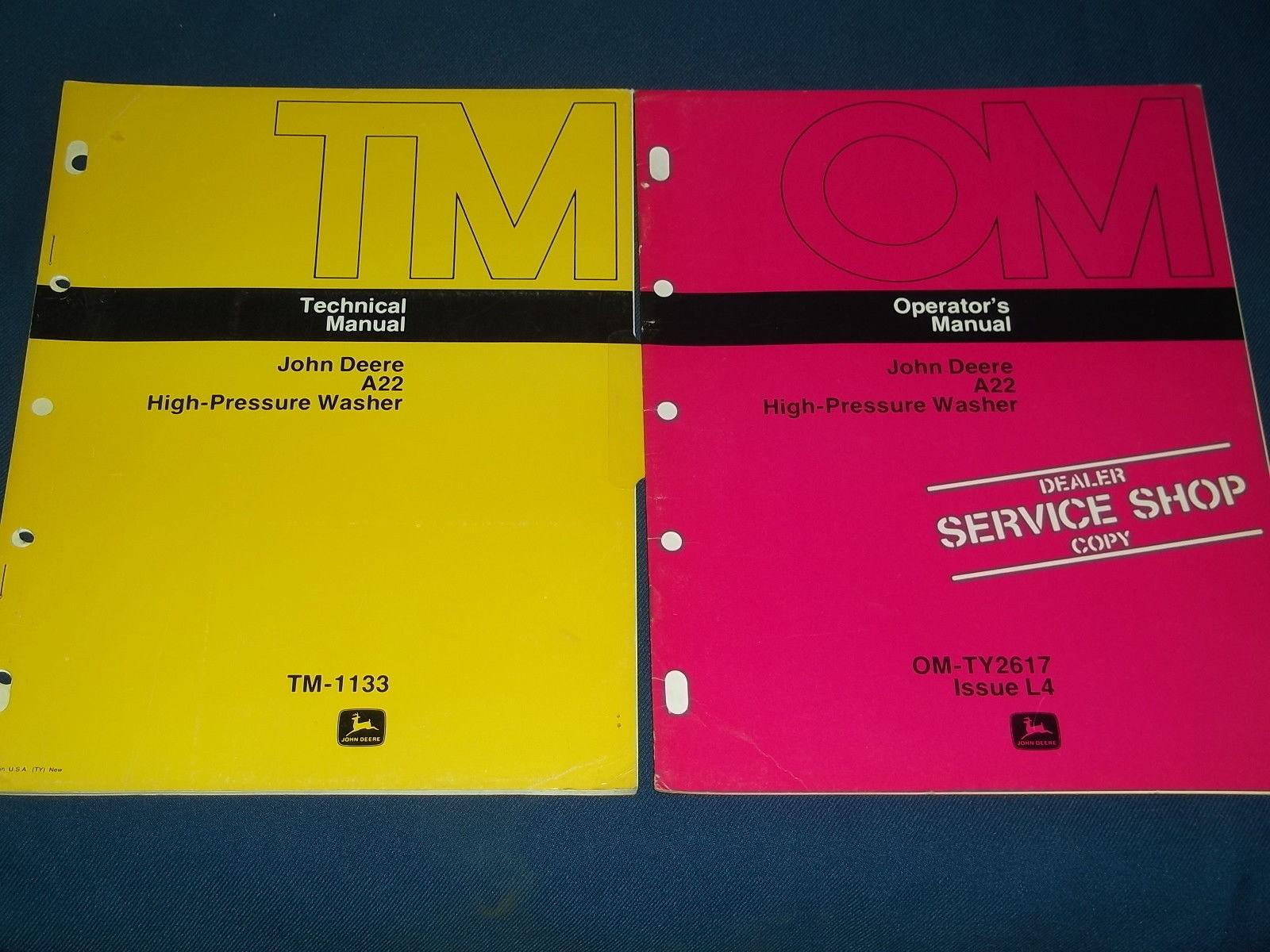 John Deere Manuales de taller - Service manuals- repair manuals