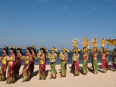 Nyepi op Bali, een dag van pure rust..