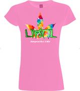 Lyfsty (Underground Music)- Womens Pink - Style 2