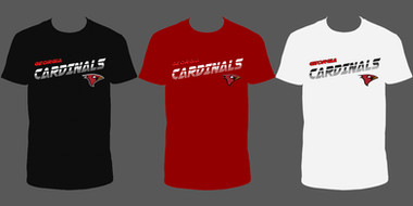 Georgia Cardinals w-Logo (Design 1 - 3 Color)