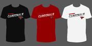 Georgia Cardinals w-Logo (Design 1 - 3 Color)