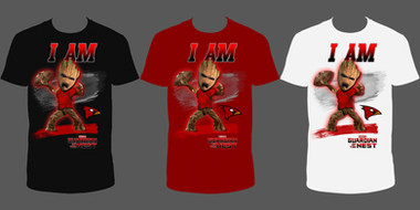 I am Groot Cardinals Shirt Design (3 Color)