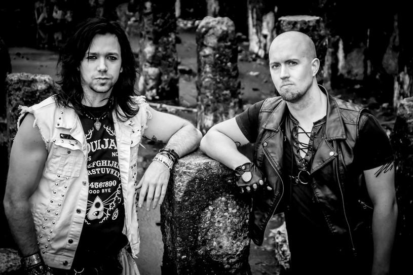 Justin Tyme & Storm - Throne of Eden promo shoot