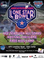 [Team USA] Lone Star Bowl - Kids Camp Flyer