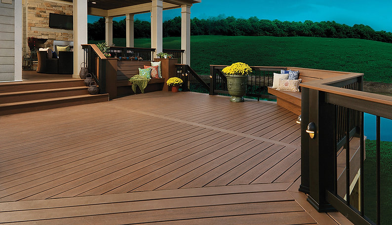 Stained Deck in Olympia WA