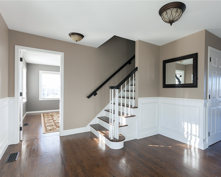 Tumwater Interior Painting with decorative wall panels