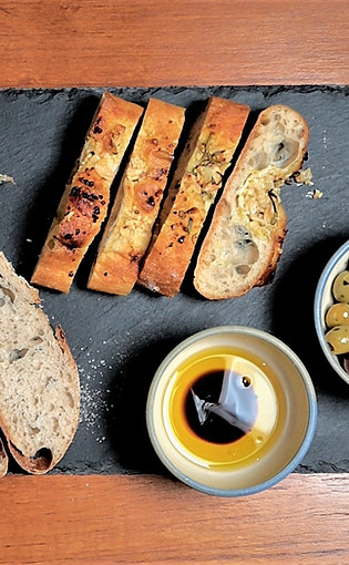 Artisan Breads with Dipping Oils & Balsamic