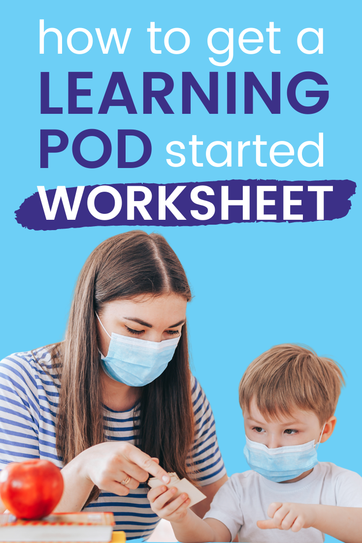 how to get a learning pod started worksheet