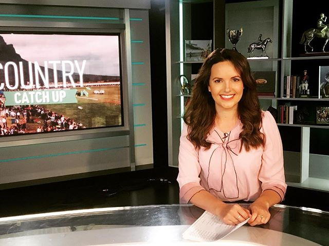 The lovely Kate Watts In studio for racing.com wearing this gorgeous shirt from _review_australia 💕_._.jpg