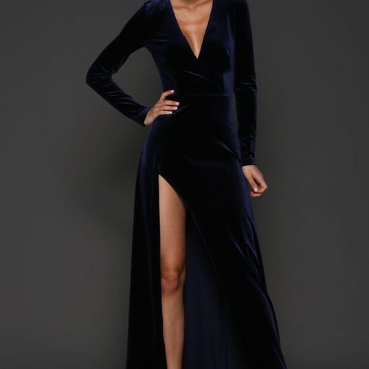 Blue velvet gown.jpg