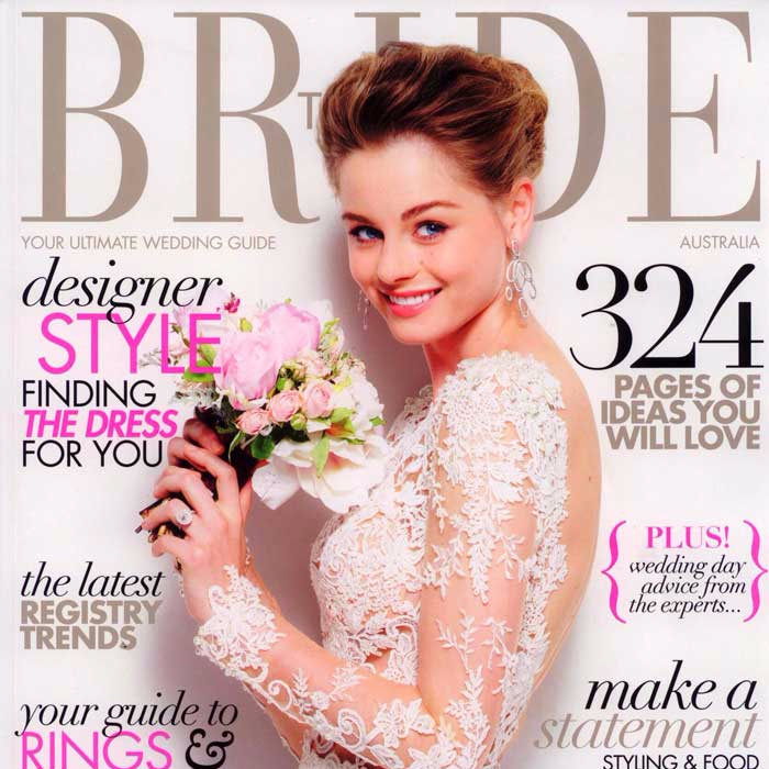 As Appeared In Bride Magazine