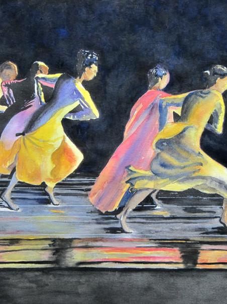 Movement 30w x 22 Watercolor