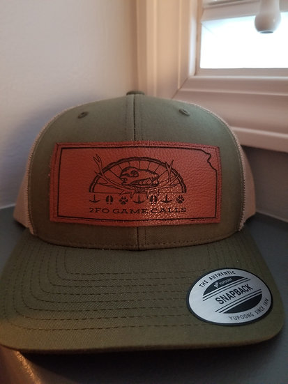 2Fo leather patch hat
