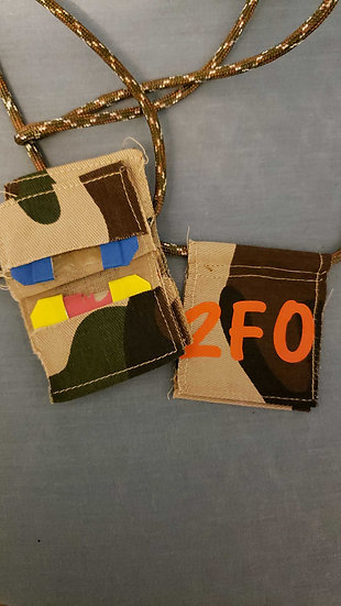 2Fo Mouth Call Wallet (Holds 4 calls)