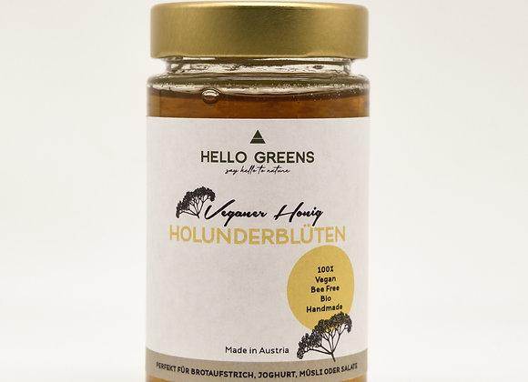 Veganer Honig aus Holunderblüten