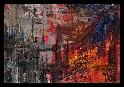 Inner Fight (100x70)