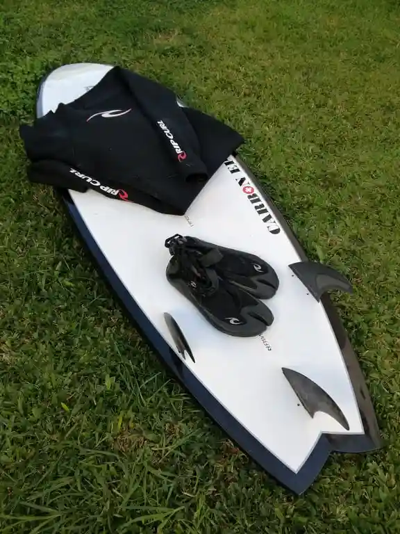 PACK Surfboard Wetsuit Boots   per Day
