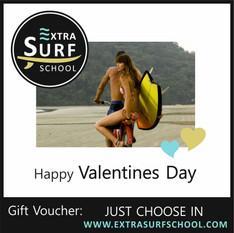 Surf Vouchers Valentine`s Day
