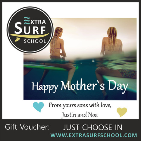 Surf Vouchers Mother`s Day