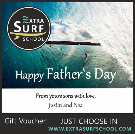 Surf Vouchers Father`s Day