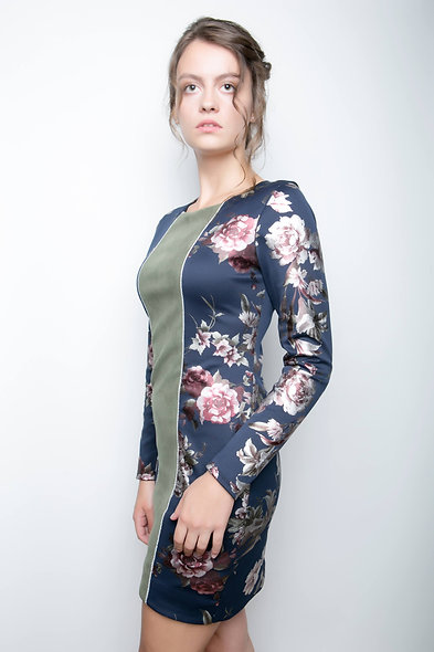 Twilight Floral Dress