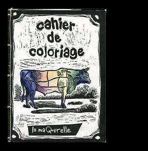Cahier de coloriage La maQuerelle