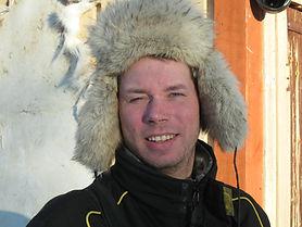 Reindeer herder Petri Mattus at Reindeer Farm Petri Mattus in Inari Finland