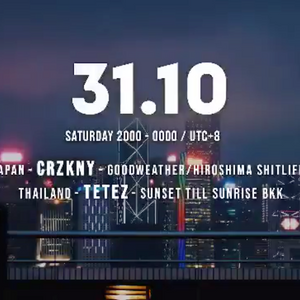 [NEWS] 10/31(土)、マレーシアの『Metropolis Social Club』にてCRZKNYのライブ動画配信