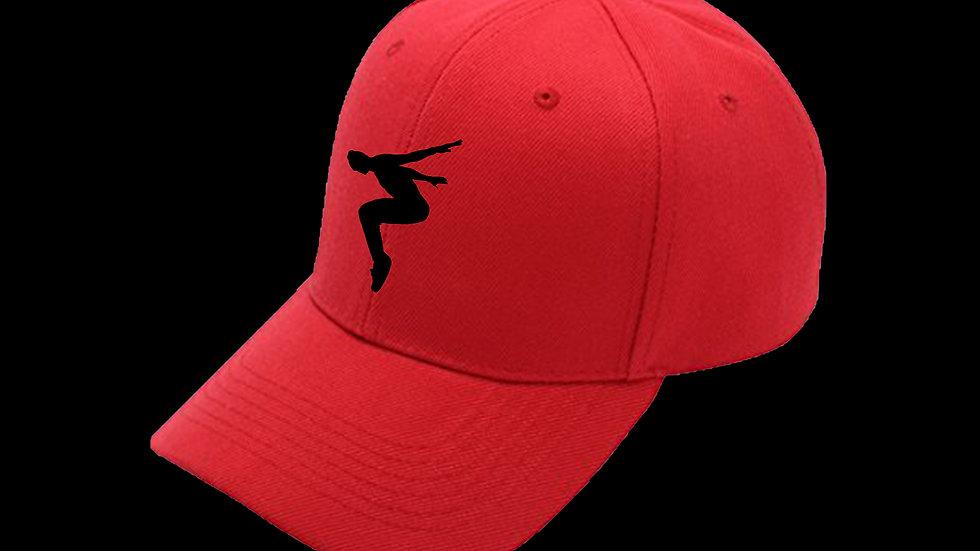 Francis T Logo - Red Baseball cap