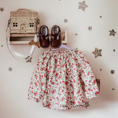 Florence Little Girls Blouse