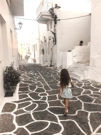 Laila skirt in Paros Greec
