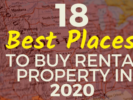 18 Best Places to Buy Rental Property in 2020