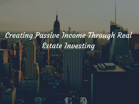 Get Started Earning Passive Income Through Real Estate Investing.