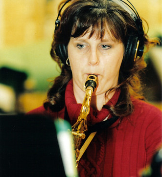 Saxophonist Janice Finlay