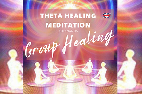 Theta Healing Meditation - GROUP HEALING of UNCONDITIONAL LOVE