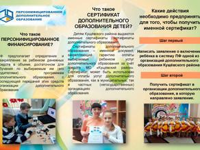 Сертификаты дополнительного образования детей