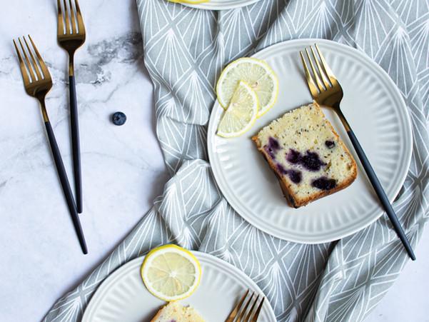 LEMON BLUEBERRY CHIA SEED CAKE