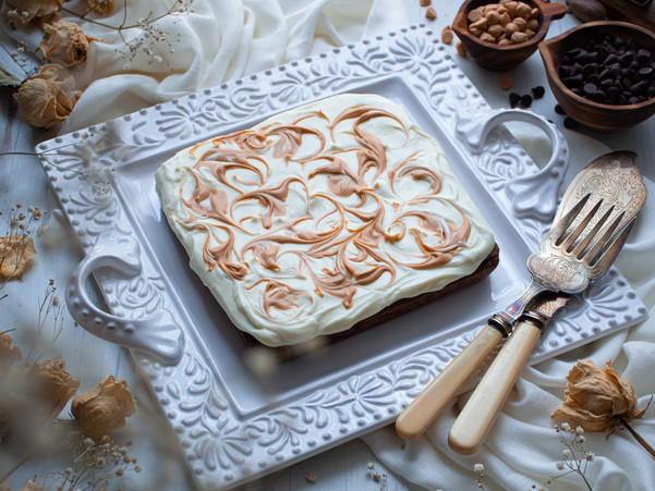 WHITE CHOCOLATE BUTTERSCOTCH BROWNIES